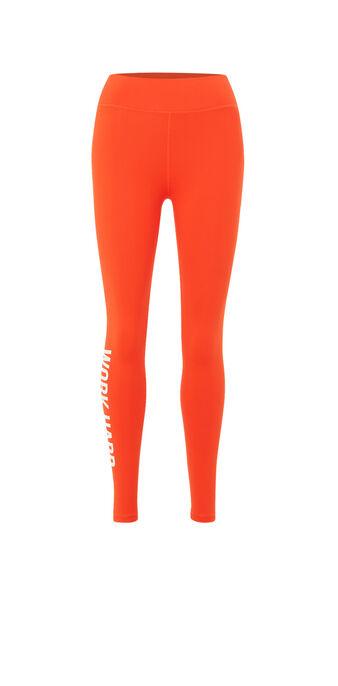 Legging orange wordingiz orange.