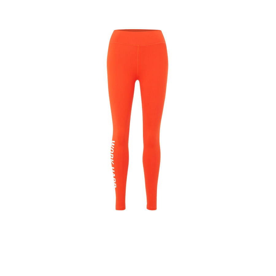 Legging orange wordingiz;