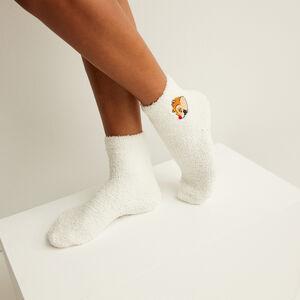 chaussettes tic et tac - blanc