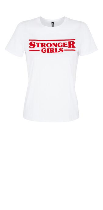 Top blanc strongeriz white.