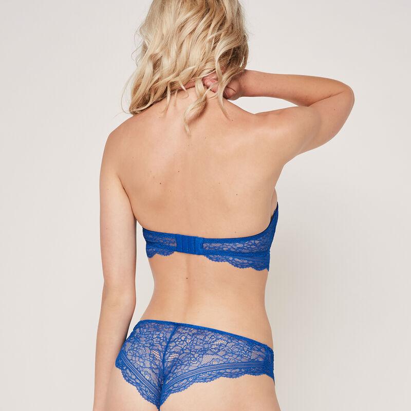 Soutien-gorge bandeau bleu roi everydayiz;