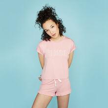 Soblondiz pink shorts pink.