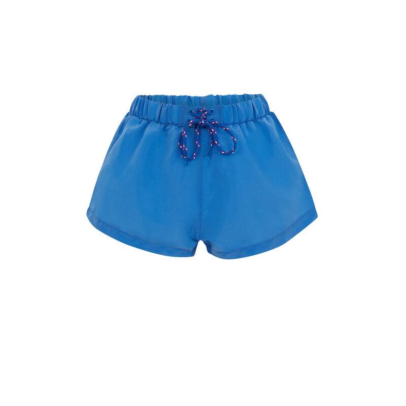 Short de bain - bleu;
