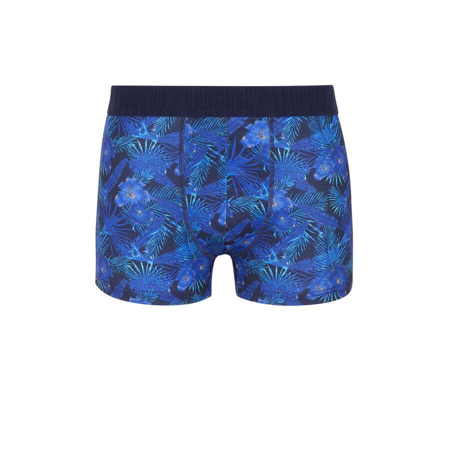 Boxer blue blufeuilliz;
