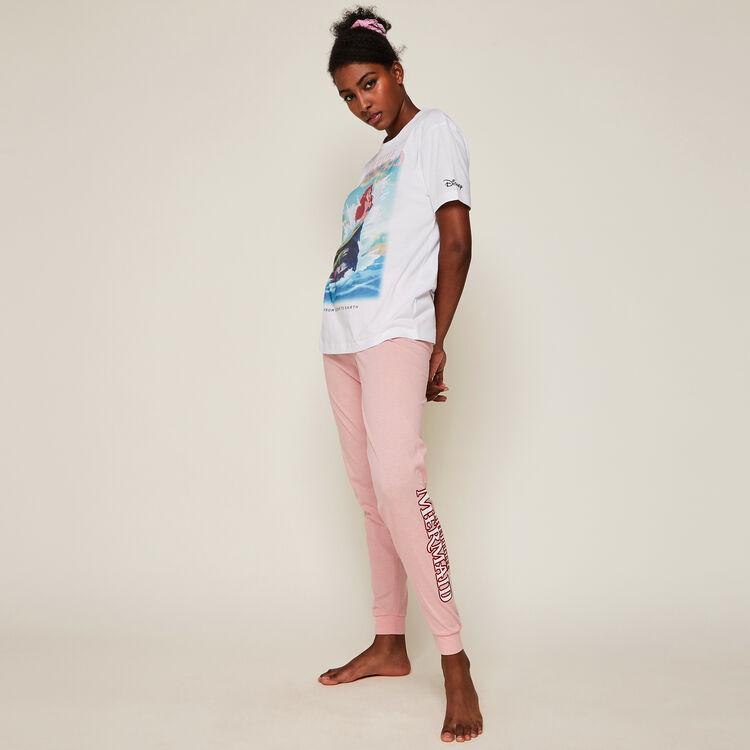 Pantalon print ariel arielrochiz rose.