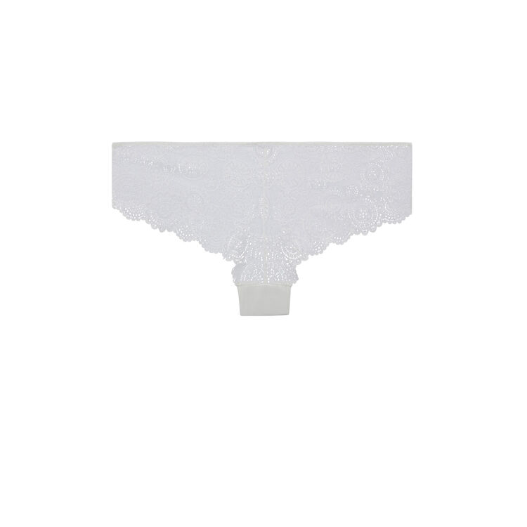 Shorty blanc milianiz white.