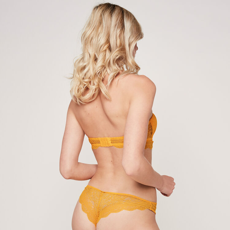 Soutien-gorge bandeau safran everydayiz orange.