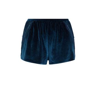 Short bleu canard velcroisiz blue.