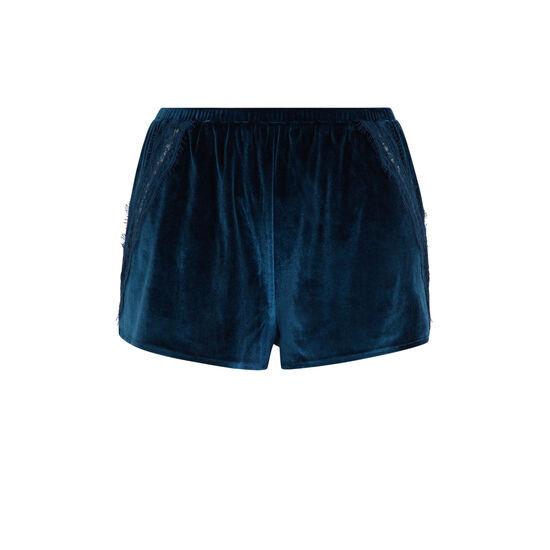 Short bleu canard velcroisiz;