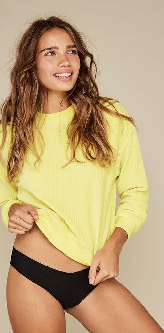 Sweat jaune chipitiz yellow.