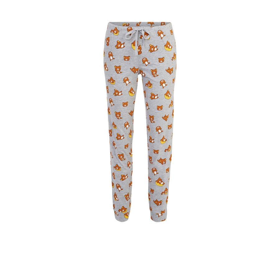 Pantalon gris clair rouxiz;${refinementColor}