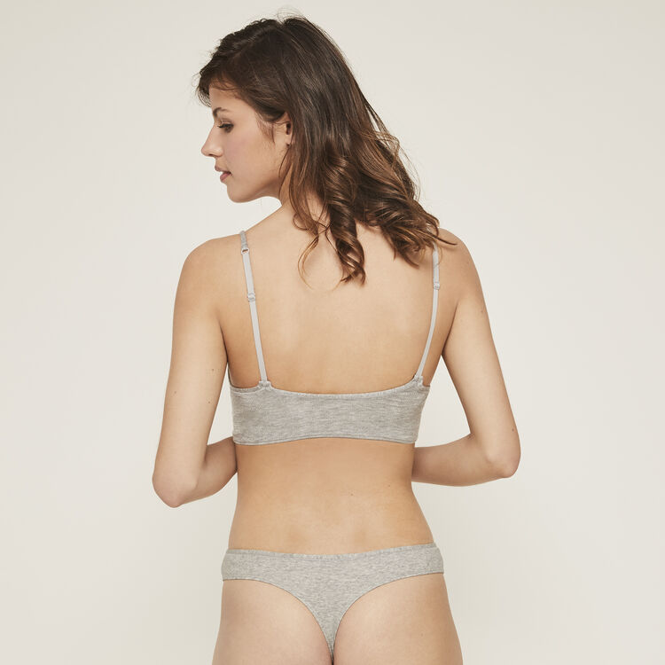 String gris coziz grey.