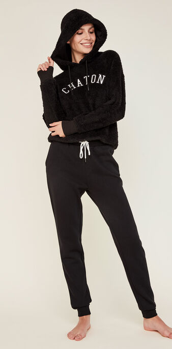 Sweat noir chatonixiz black.