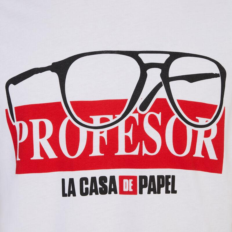 T-shirt Casa de Papel - blanc;