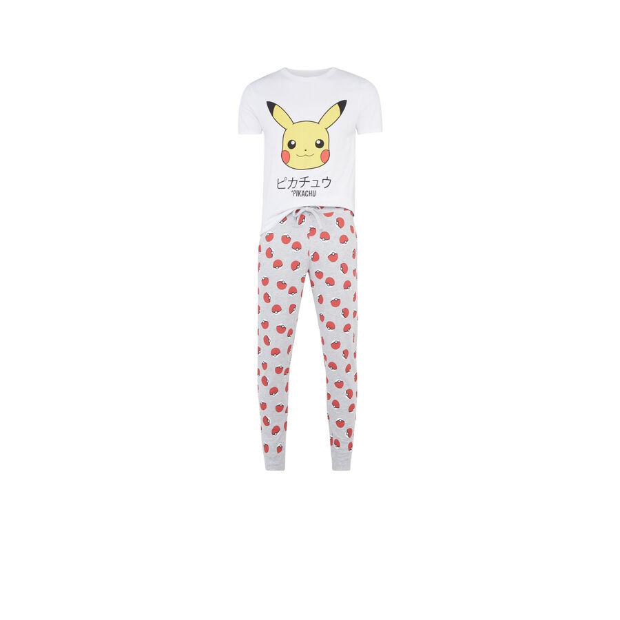 Set pyjama blanc homme pikatiz;