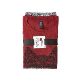 Ensemble de pyjama bordeaux talouiz spain red.