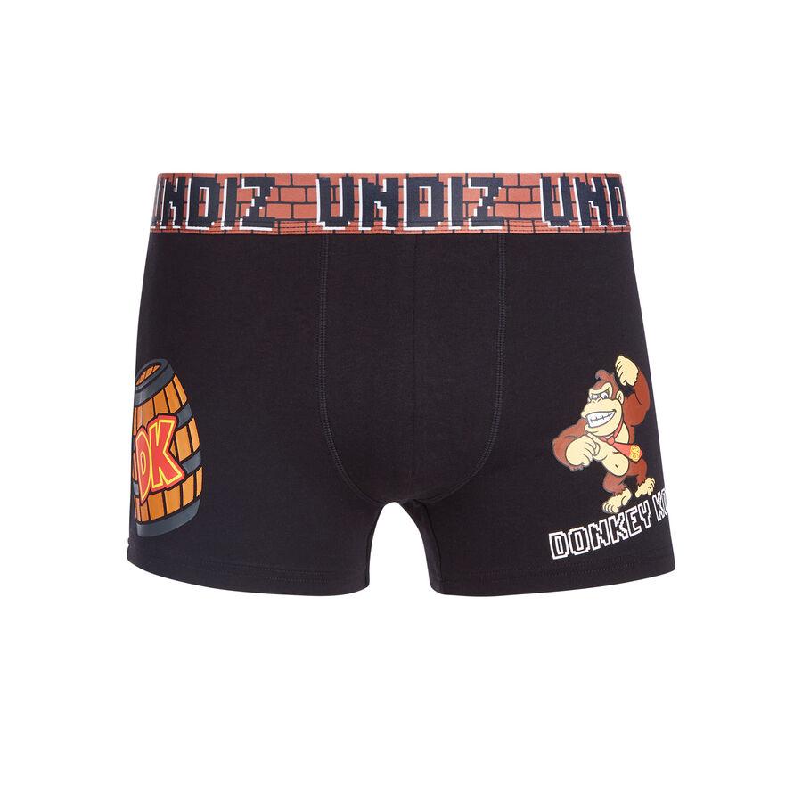 Playdiz black boxer shorts;${refinementColor}