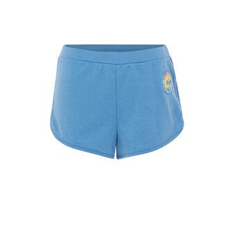 Short bleu alohastiz. blue.