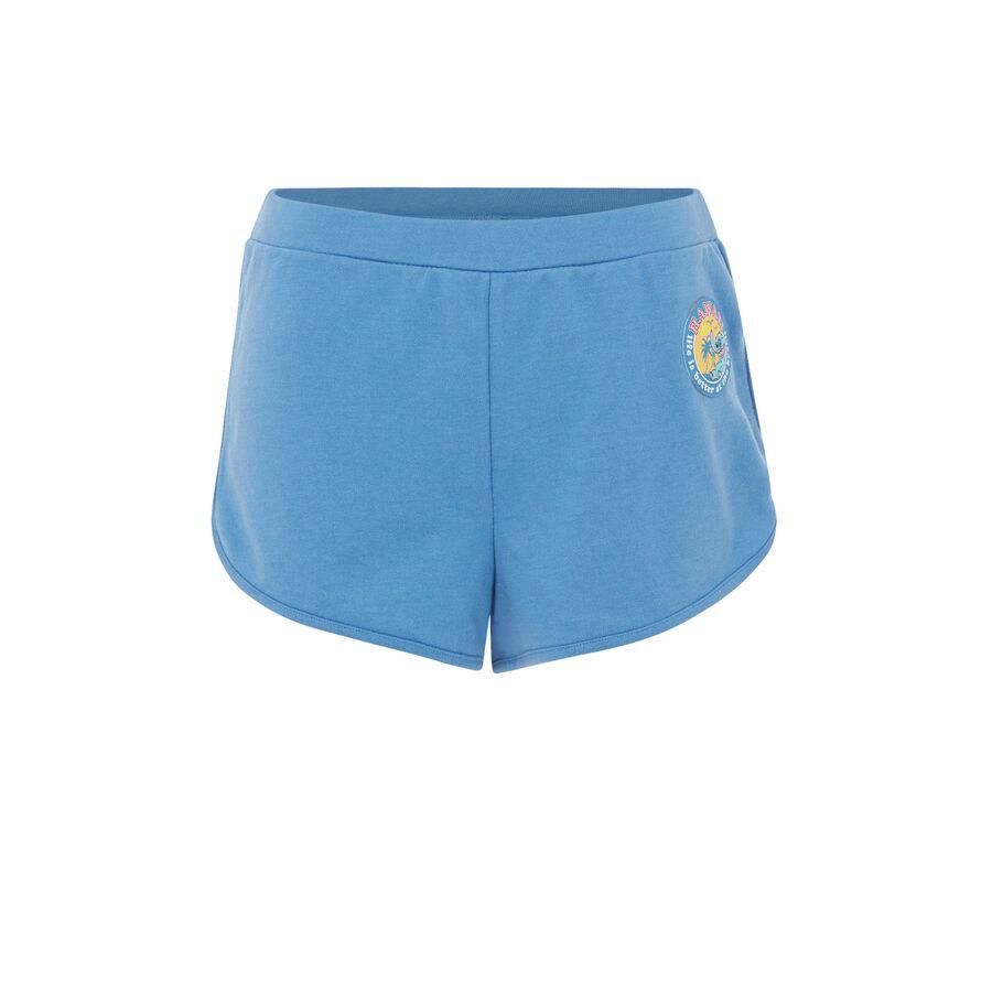 Short bleu alohastiz.;