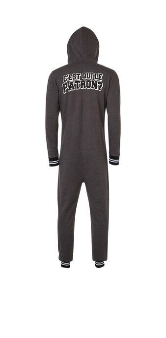 Patroniz dark grey jumpsuit  grey.