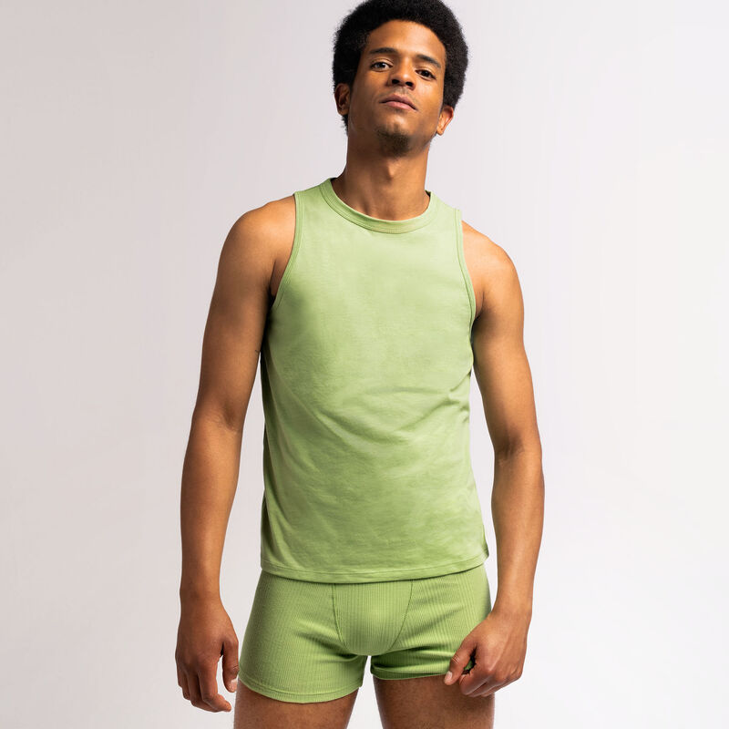débardeur unisexe en jersey - vert;
