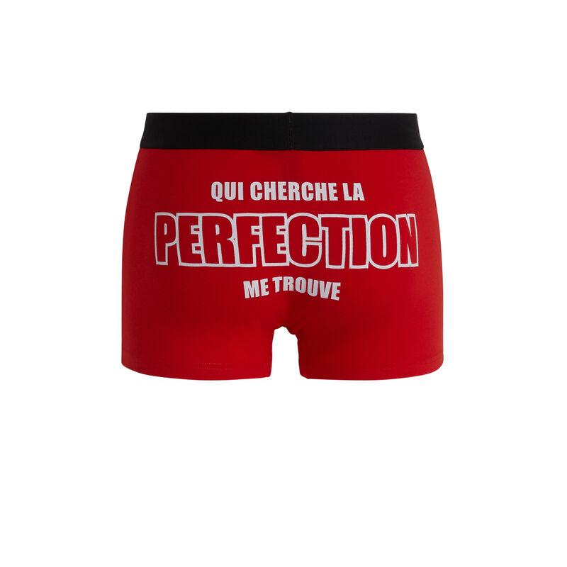 boxer coton à message uzpatchiz;