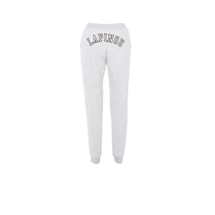 Pantalon blanc lapinouxiz;