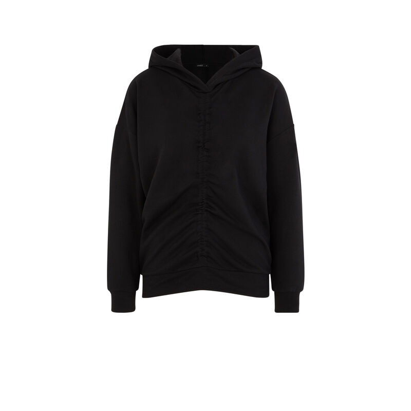 Sweat à capuche - noir;