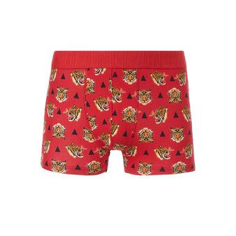 Boxer rouge agraiz red.
