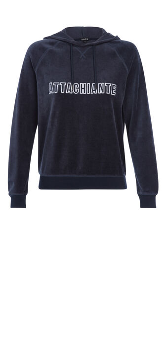 Sweat bleu marine chiantiz blue.