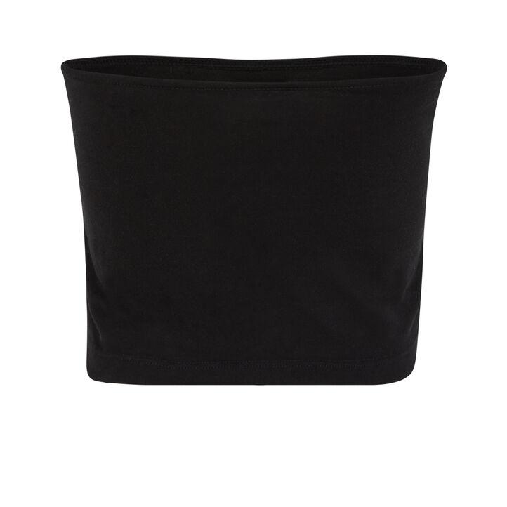 Top bandeau noir croversiz black.