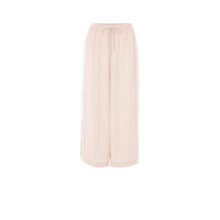 Pantalon rose bacurtiz;