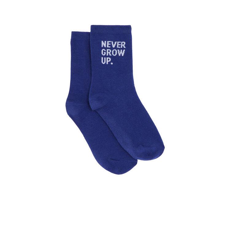 Chaussettes bleues nevergrowiz blue.