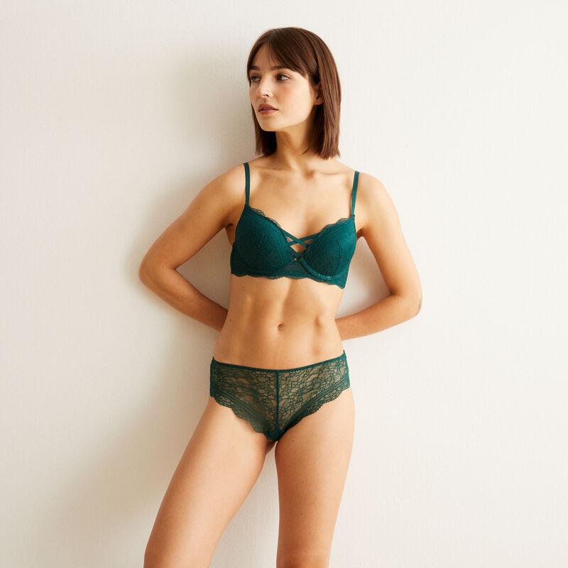 soutien-gorge ultra push-up - vert;