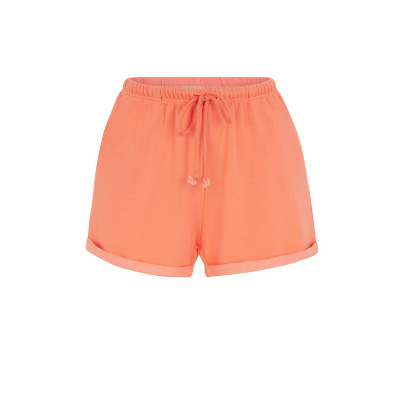 short molletoné - orange ;