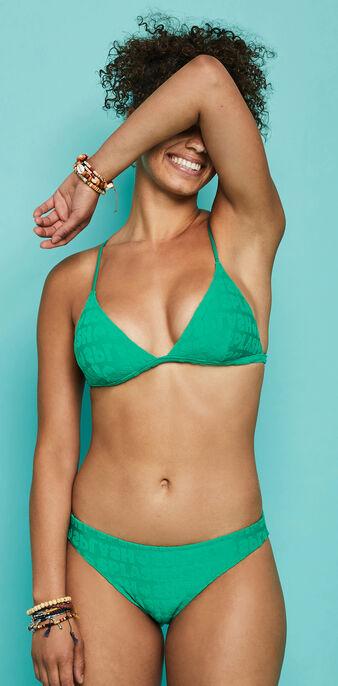 Haut de maillot de bain vert émeraude epongiz splashiz green.