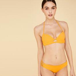 Bas de maillot de bain jaune gabiz yellow.