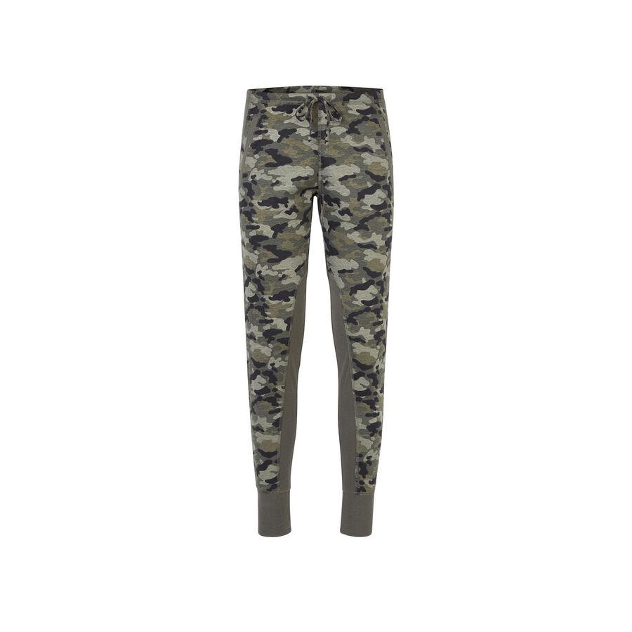 Pantalon  vert kaki troupiz;${refinementColor}