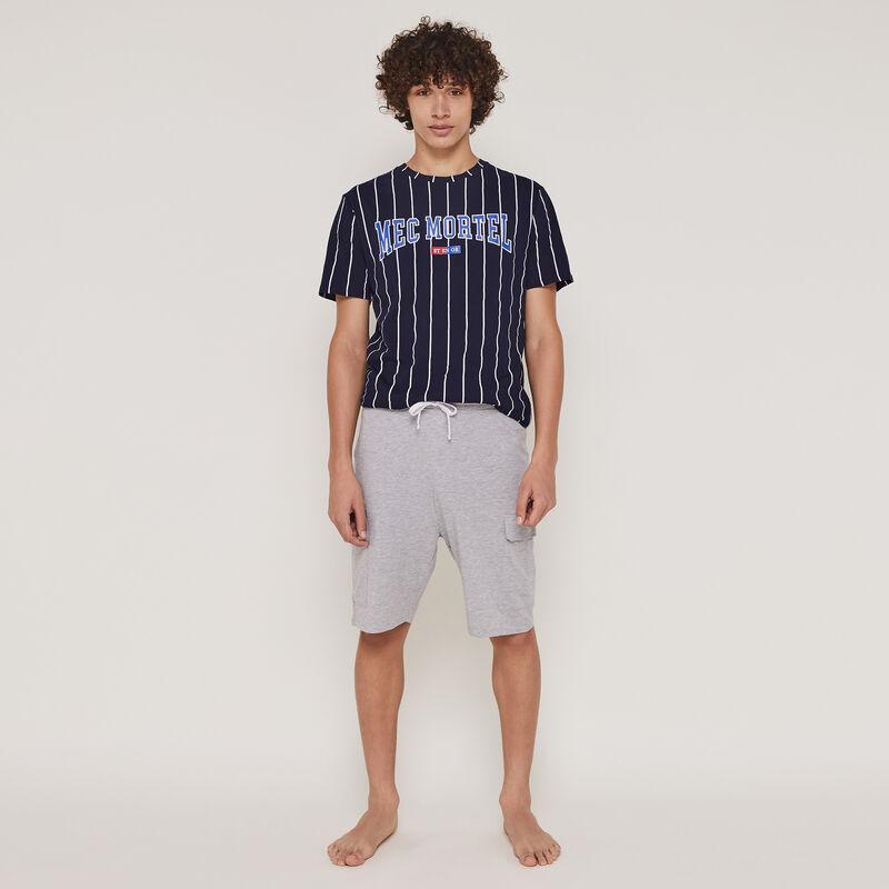 Set pyjama top + short à message morteliz;