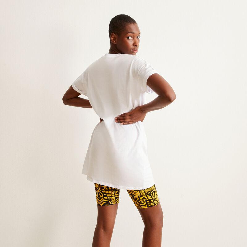 tunique à imprimé Eleven Stanger Things - blanc;