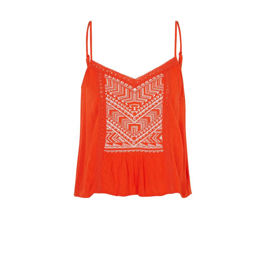 Trioukiz orange top;${refinementColor}
