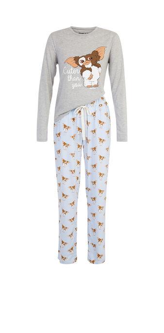 Ensemble de pyjama gris clair spaingrimliz grey.