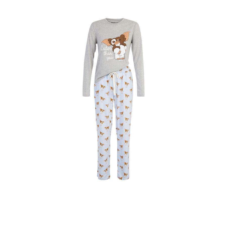 Ensemble de pyjama gris clair spaingrimliz;${refinementColor}