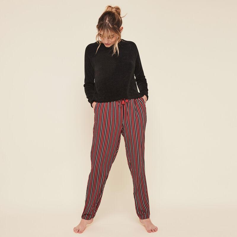 Pantalon fluide à rayures redrayiz;