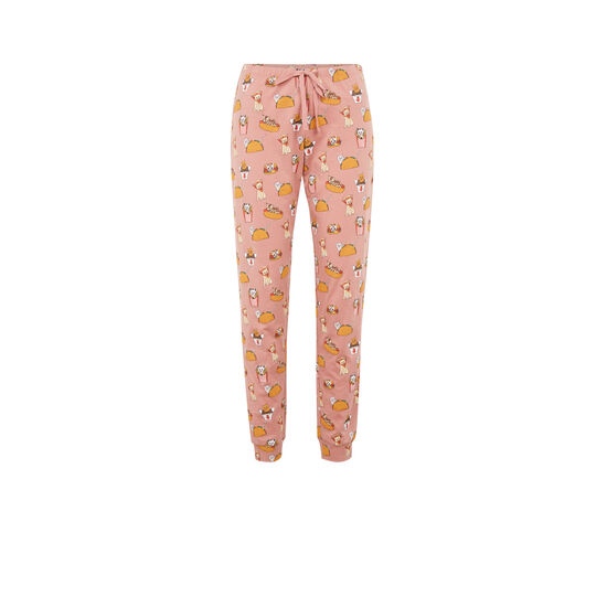 Pantalon rose allcatiz;
