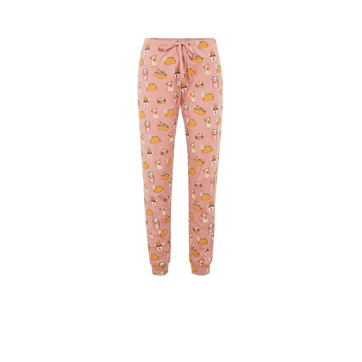Pantalon rose allcatiz pink.