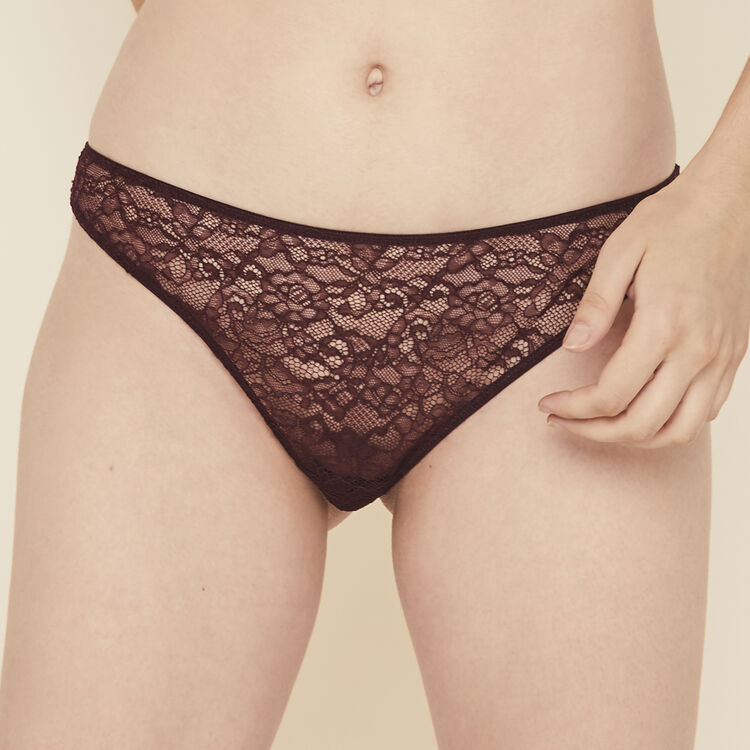 Tanga bordeaux everydayiz rouge.
