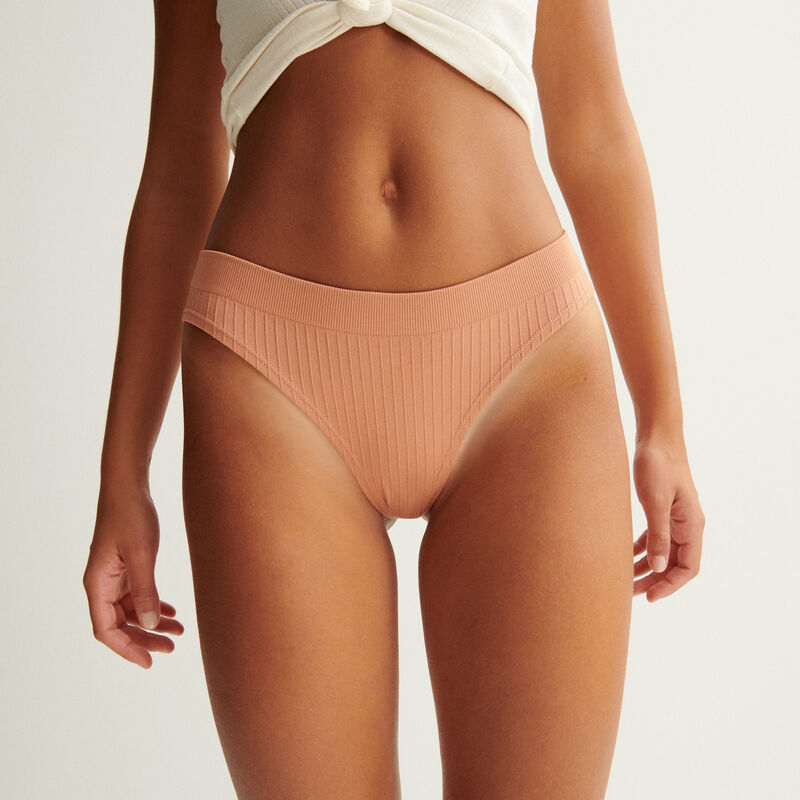 culotte sans coutures - nude;