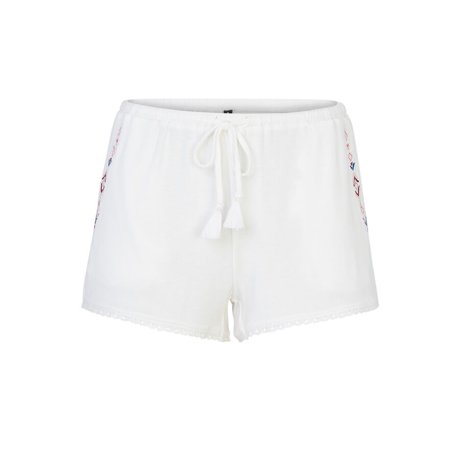 Freepiz beige shorts;${refinementColor}