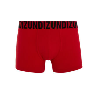 Oreliz bright red boxer shorts red.